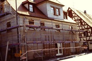 Das Haus im ersten Umbau